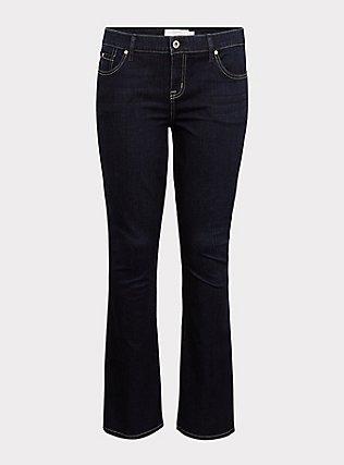 Slim Boot Jean - Vintage Stretch Dark Wash, MOONLIT, flat