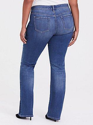 Slim Boot Jean - Vintage Stretch Dark Wash, , alternate