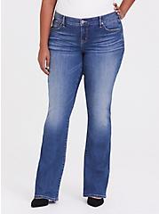 Slim Boot Jean - Vintage Stretch Dark Wash, , hi-res