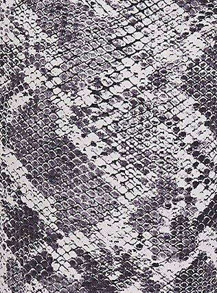 Jegging - Super Stretch Grey Snakeskin Print, SNAKE - BROWN, alternate