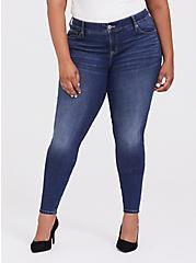 Bombshell Skinny Jean - Vintage Stretch Medium Wash, BACK COUNTRY, alternate