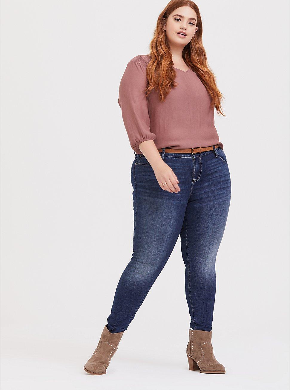 Bombshell Skinny Jean - Vintage Stretch Medium Wash, BACK COUNTRY, hi-res