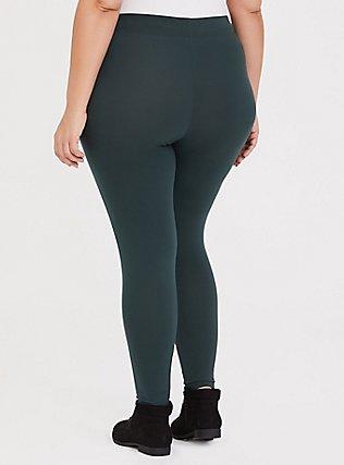 Premium Legging - Dark Green, GREEN GABLES, alternate