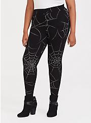 Premium Legging - Spider Web Black, MULTI, hi-res