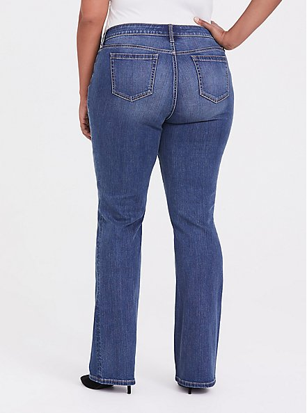 Relaxed Boot Jean - Vintage Stretch Medium Wash, , alternate