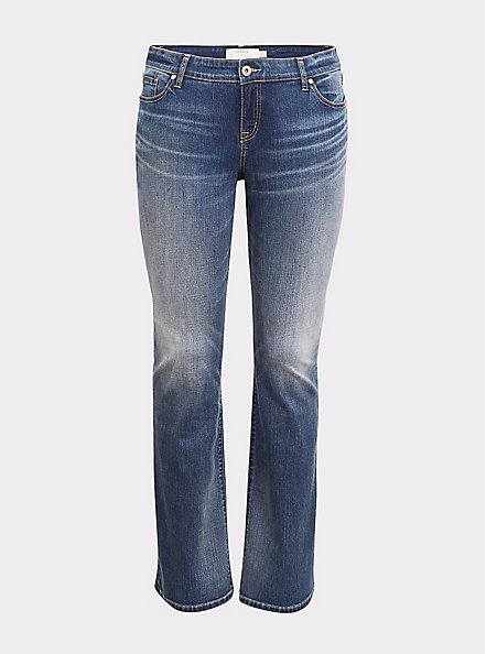 Relaxed Boot Jean - Vintage Stretch Medium Wash, , hi-res
