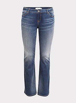 Relaxed Boot Jean - Vintage Stretch Medium Wash, , flat