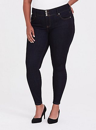 Jegging - Comfort Stretch Dark Wash, , hi-res