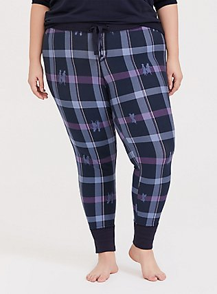 Disney Frozen 2 Anna & Elsa Blue Plaid Legging, MULTI, hi-res