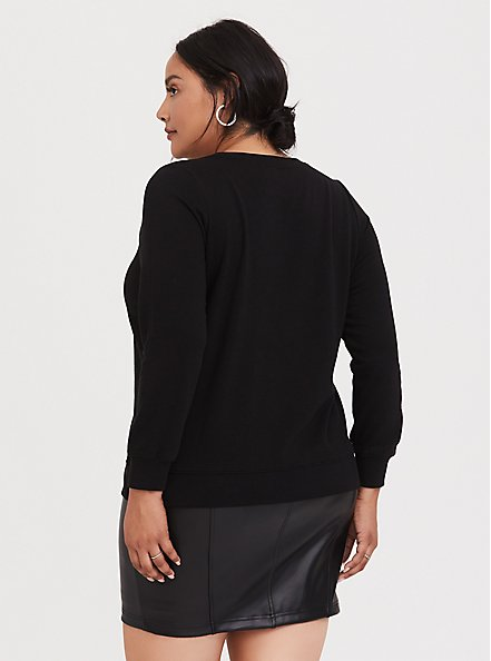 Tupac Pullover Sweatshirt, DEEP BLACK, alternate