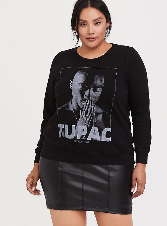 Tupac Pullover Sweatshirt, , hi-res