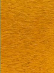 Mustard Yellow Slub Boyfriend Cardigan, MINERAL YELLOW, alternate