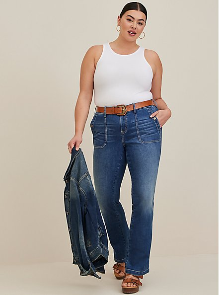 White Goddess Foxy Tank, BRIGHT WHITE, alternate