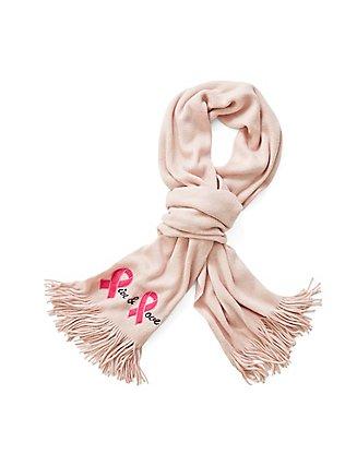 Breast Cancer Awareness - Pink Live & Love Fringe Scarf, , pdped