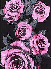Breast Cancer Awareness - Black & Pink Rose Jogger, DEEP BLACK, alternate