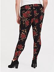 Premium Legging - Rose Black, MULTI, alternate