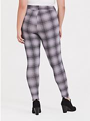 Slim Fix Premium Legging - Plaid Grey, MULTI, alternate