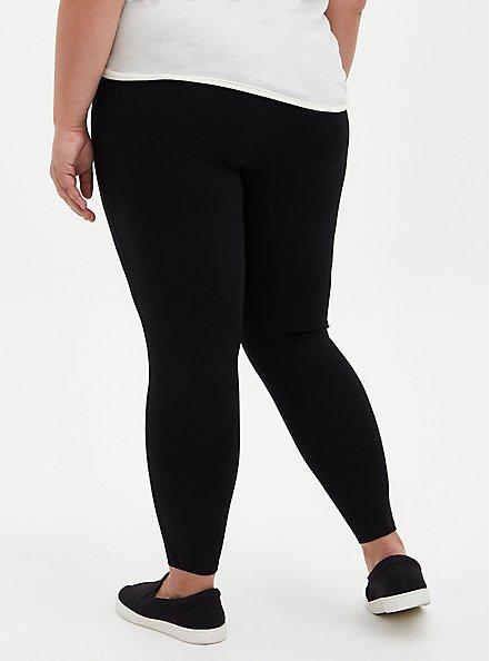 Platinum Legging - Ponte Black , BLACK, alternate