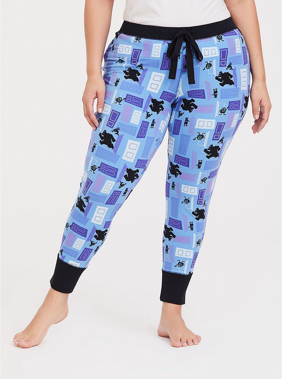 Disney Pixar Monster's, Inc. Print Blue Sleep Pant, BLUE, hi-res