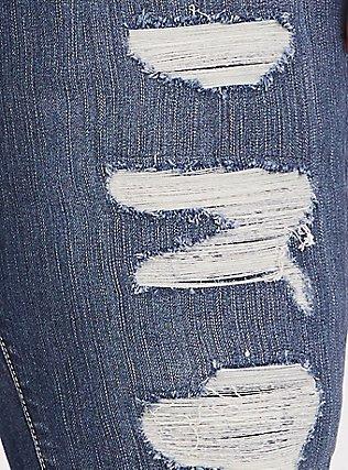 Sky High Skinny Jean - Premium Stretch Medium Wash, EMERSON, alternate
