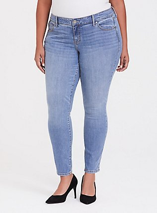 Classic Skinny Jean - Vintage Stretch Light Wash, MONTECITO, hi-res