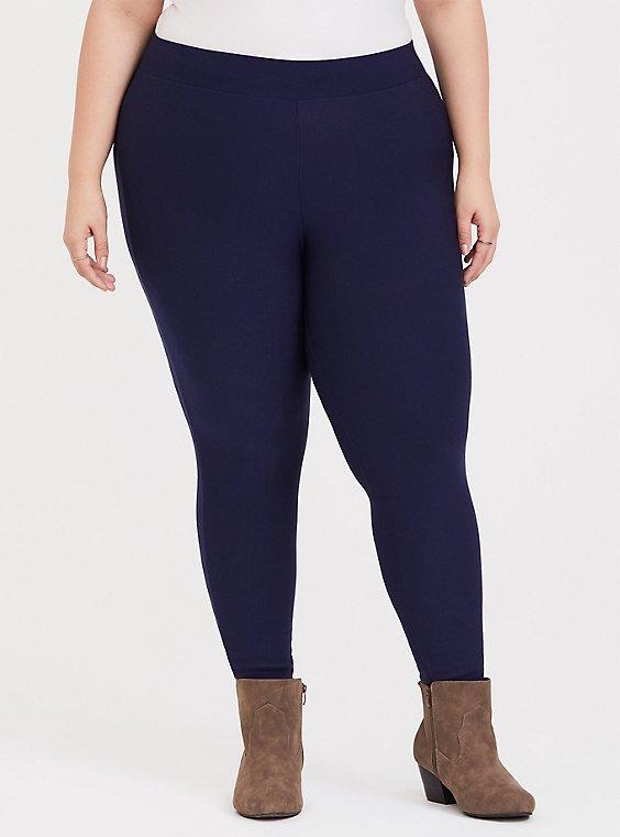 Platinum Legging - Fleece Navy, , hi-res