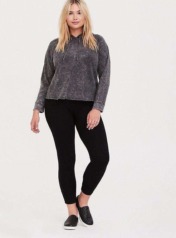 Premium Legging - Back Crisscross Black, , hi-res