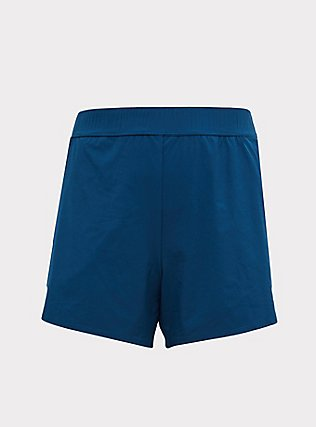 Teal Swim Boardshort, TEAL, flat