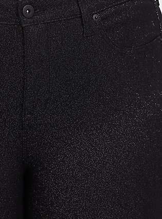 Sky High Skinny Jean - Premium Stretch Black Sparkle, SPARKLE, alternate