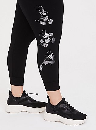 Disney Mickey Mouse One and Only Black Jogger, DEEP BLACK, alternate
