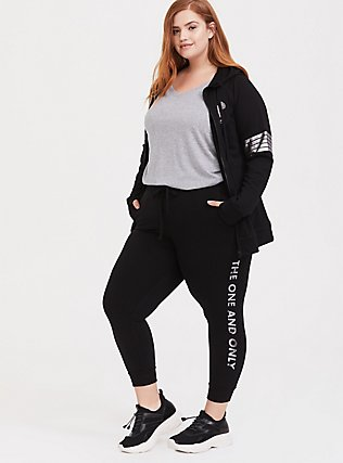 Disney Mickey Mouse One and Only Black Jogger, DEEP BLACK, hi-res
