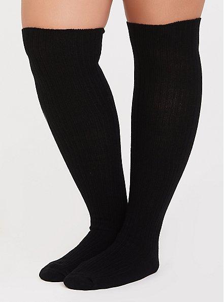 Grey Over-the-Knee Sock Pack - Pack of 2, MULTI, alternate