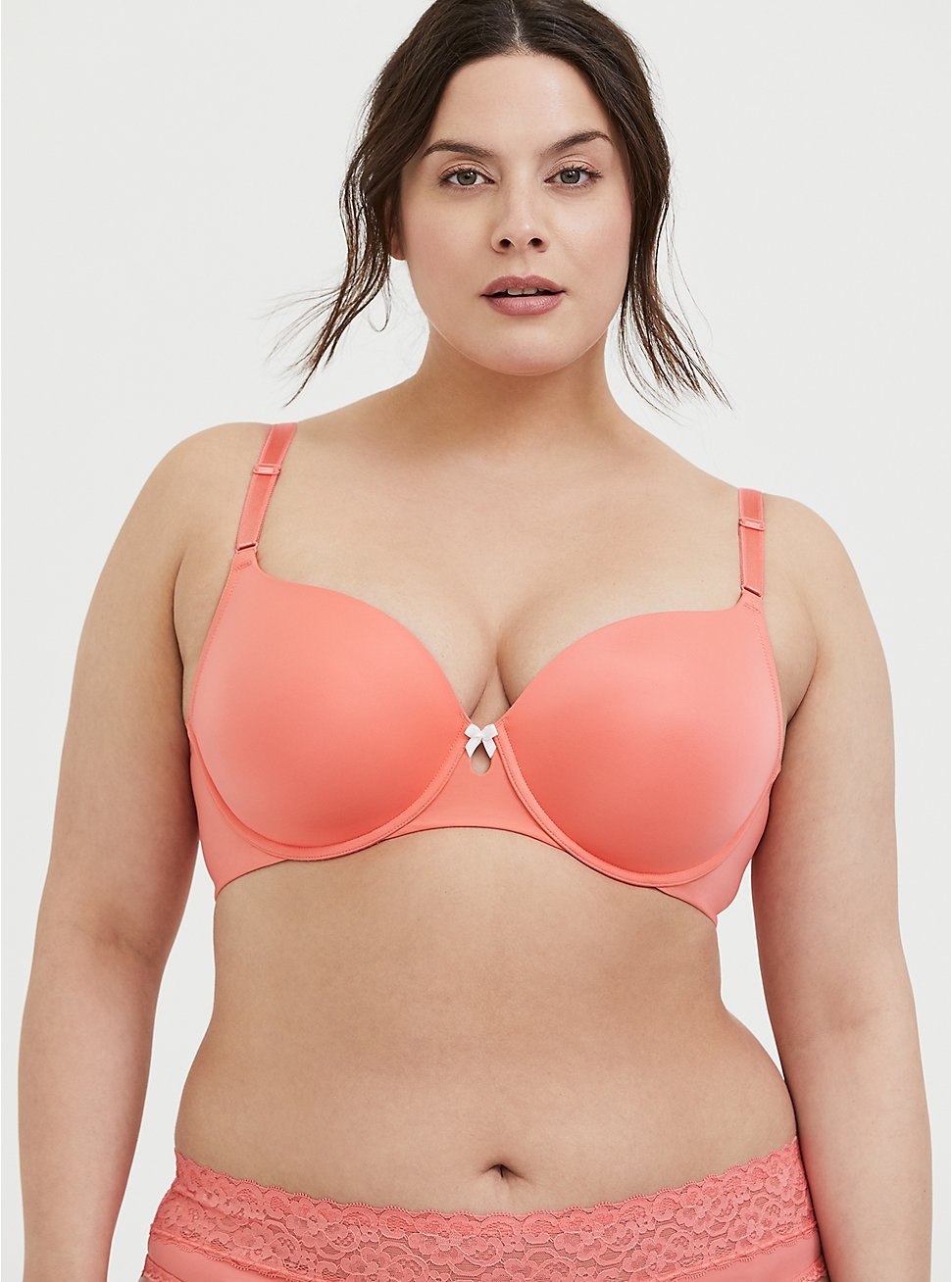 Coral 360° Back Smoothing™ Lightly Lined T-Shirt Bra, , hi-res