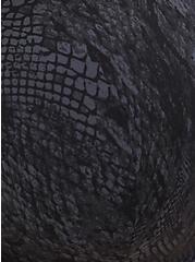 Black Snakeskin Print Front Clasp 360° Back Smoothing™ Lightly Lined T-Shirt Bra, SNAKESKIN-BLACK, alternate