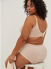 Beige 360° Back Smoothing™ Lightly Lined Full Coverage Balconette Bra, ROSE DUST, alternate