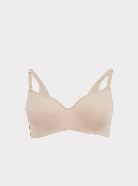 Beige 360° Back Smoothing™ Lightly Lined Full Coverage Balconette Bra, ROSE DUST, hi-res