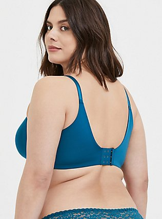 Teal Blue 360° Back Smoothing™ Lightly Lined Full Coverage Bra, , hi-res