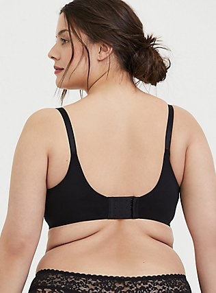 Black 360° Back Smoothing™ Maximum Support Lightly Lined Full Coverage Bra, RICH BLACK, alternate