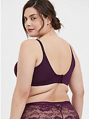 Grape Purple 360° Back Smoothing™ Push-Up T-Shirt Bra, POTENT PURPLE, alternate