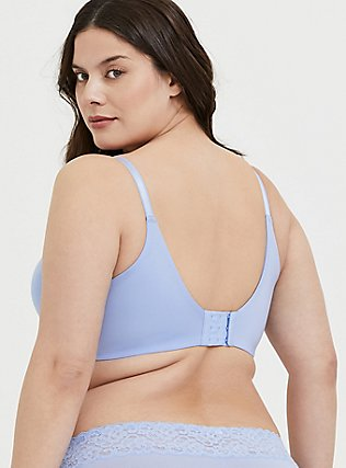 Plus Size Periwinkle Blue 360° Back Smoothing™ Push-Up T-Shirt Bra, , alternate