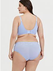 Plus Size Periwinkle Blue 360° Back Smoothing™ Push-Up T-Shirt Bra, , alternate