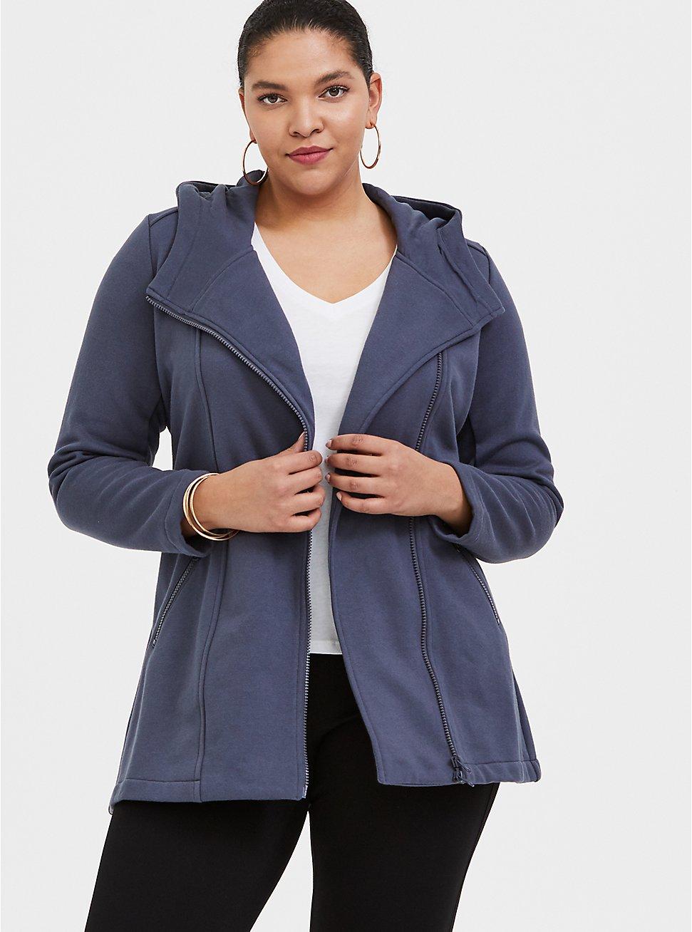 Slate Grey Fleece Jacket 4