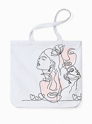 Breast Cancer Awareness - The Canvas Tote Bag With A Cause, , alternate