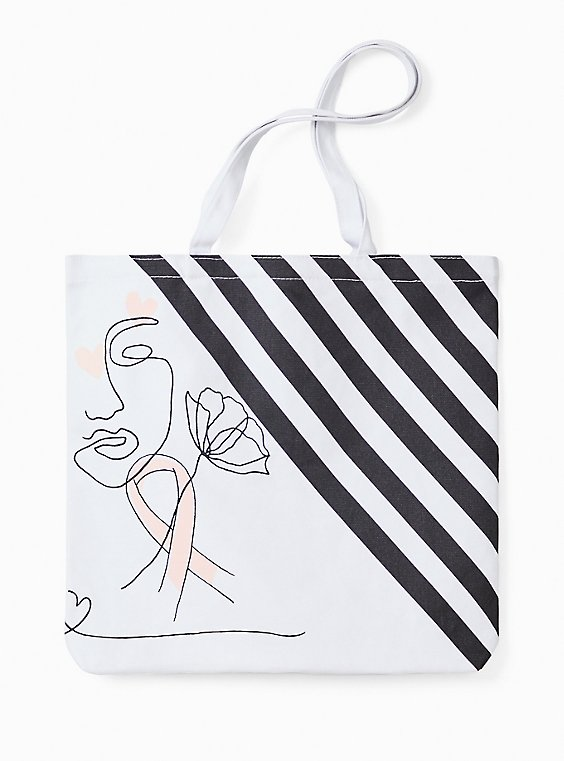 Breast Cancer Awareness - The Canvas Tote Bag With A Cause, , hi-res