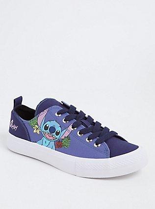 Disney Lilo & Stitch Canvas Sneaker (Wide Width), BLUE, hi-res