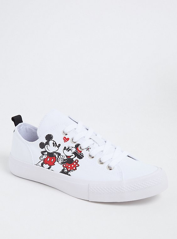 Disney Mickey & Minnie Mouse Love Canvas Sneakers (Wide Width), , hi-res