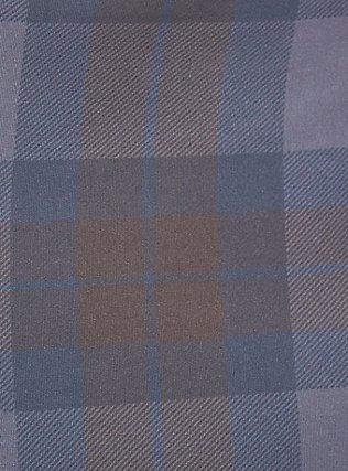 Plus Size Outlander Green Tartan Microfiber Lace-Up Corset, OUTLANDER TARTAN, alternate