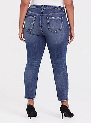 High Rise Straight Jean - Dark Wash, KENTUCKY STRAIGHT, alternate