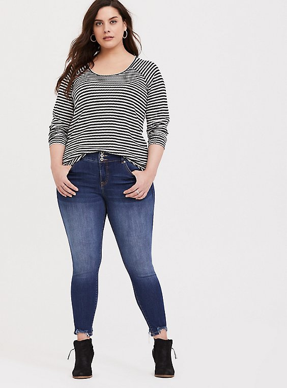 Plus Size Jegging - Premium Stretch Medium Wash, , hi-res