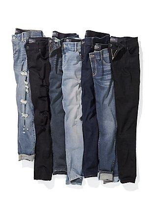 Bombshell Skinny Jean - Premium Stretch Light Wash, KINGS CROSS, alternate